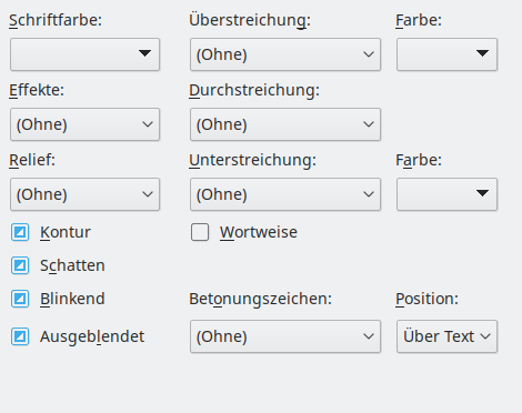 libre office silbentrennung